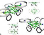 تصاویری از طرح اولیه موتور سیکلت پرنده/ موتورسیکلتی برای فرار از ترافیک