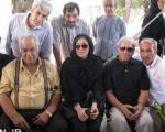 عکس یادگاری مهتاب کرامتی و ناصر ملکمطیعی+عکس
