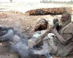 این مرد یک قرن حمام نرفته است! +عکس