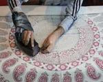 چاپ قلمکار تجسمی زنده از فرهنگ ایران