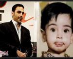 احسان علیخانی در کودکی (عکس)