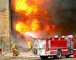 مرد میانسال در خانه خود آتش گرفت و سوخت