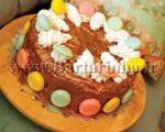 کیک بادام سوخته