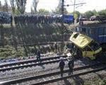 ۴۰ كشته در تصادف قطار با اتوبوس