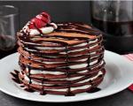 کیک شکلاتی پنکیک