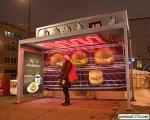 تبلیغات جالب و ابتکاری در ایستگاه اتوبوس