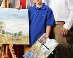 پسری که بزرگ ترین شانس زندگی خانواده اش است!+تصاویر