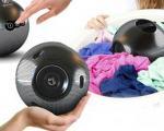 این توپ چهره آینده ماشین لباسشویی است +عکس