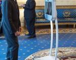 رباتی که با اوباما دیدار کرد(+عکس)