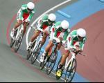 مدال نقره استقامت جاده بر گردن دوچرخهسوار ایرانی
