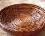 آموزش تصویری ساخت ظرف زیبا با روزنامه