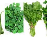 نحوه آماده کردن سبزی خورش قورمه سبزی