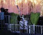 عکس: یانگوم مشعل بازیها را روشن کرد