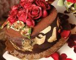 بهترین طعم دنیا با «کیک فندق و شکلات تلخ»