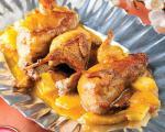 طرز تهیه بلدرچین با سس آناناس