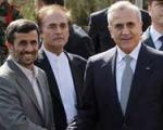 نشست چهارجانبه احمدینژاد با سلیمان، حریری و نبیهبری