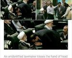 نمایش یک بی اخلاقی در شبکه های اجتماعی: این عکس وزیر بهداشت نیست (+عکس)