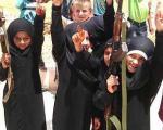دختربچههای خردسال داعشی+عکس