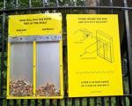 ایده مبتکرانه برای جلوگیری از ریختن زباله