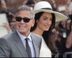 جرج کلونی و همسرش در راه ارمنستان