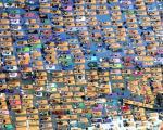 تصویر تمرین دسته جمعی یوگا در نیویورك