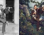 خلاقیت در امروزی کردن عکسهای تاریخی