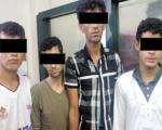 دستگیری زورگیرهای كارت عابربانک