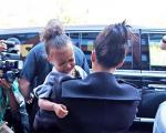شیطنت های کیم کارداشیان و دخترش! عکس