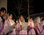 مراسمِ سال نو میلادی در تهران(+تصاویر )