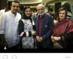 خانواده امیر سلیمانی در اکران خصوصی+عکس