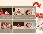 ایجاد خروجی pdf از مجموعه تصاویر