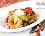 چیکن راتاتویی، غذای گیاهی برای گوشتخواران