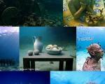 نمایشگاه مجسمه در زیر آب های مکزیک
