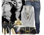 نمونه هایی ازست کردن لباس انجلینا جولی