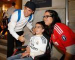 حرکت قابل تقدیر کریس رونالدو در فرودگاه / عکس