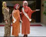 گفتگو با ایرانی شرکت کننده در مسابقات دختر شایسته(+ عکس)