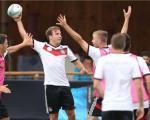 تمرین راگبی در اردوی تیم ملی آلمان + تصویر