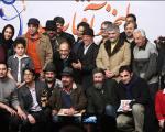 رضا عطاران، سروش صحت، رامبد جوان، بهاره رهنما و... / کمدینهای سینمای ایران تندیس گرفتند + گزارش تصویری
