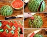 با این برش تمام خاصیت هندوانه را ازبین می برید!