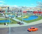 عکس قدیمی و زیبا از میدان امام حسین (ع)