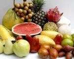 نکاتی در مورد میوه ها