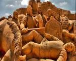 هنر مجسمه سازی شنی