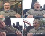 حرکت اعجاب انگیز مادربزرگ 78 ساله هلندی سوار بر ترن هوایی را ببینید
