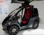 یک اتومبیل هوشمند با ظاهری نامتعارف/ اتومبیلی که حشره شد