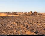 عکس: اهرام باستانی مرواه در سودان