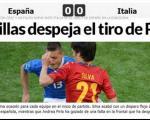 اسپانیا 1- ایتالیا1؛داربی مدیترانه برنده نداشت!