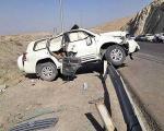 گزارش عینی یک خبرنگار از واژگونی خودروی وزیر راه و شهرسازی + عکس