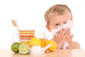 سرماخوردگی, سرماخوردگی کودکان,عفونت تنفسی در کودکان