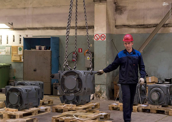 عکس: کارخانه واگنسازی ملی روسیه