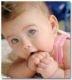 تکامل نوزاد در یک ماهگی